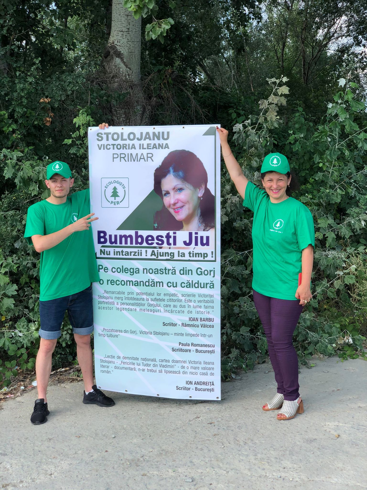 Victoria Ileana Stolojanu, candidat primaria Bumbesti-Jiu - alegeri 2020 Partidul Ecologist Roman