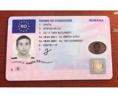 Cumpărați permis de conducere UE, Română, Whatsapp: +27603753451 pașapoarte, diplome .